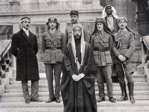 1919 الوفد العربي لمؤتمر فرساي