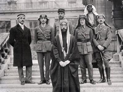 الوفد العربي لمؤتمر الصلح في فرساي ١٩١٩